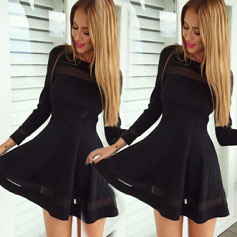 Schwarzes kleid damen kurz