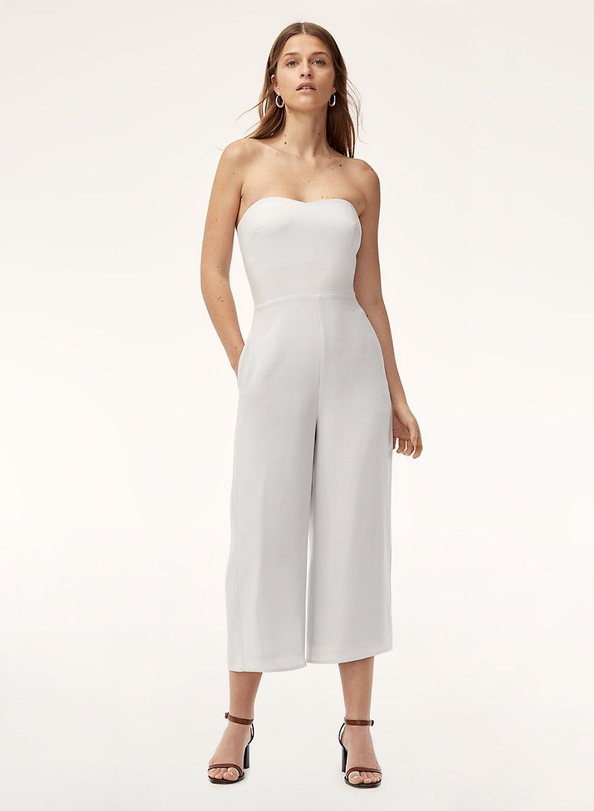 c9180e2e427f One-and-done in lightweight crepe Rompers Women