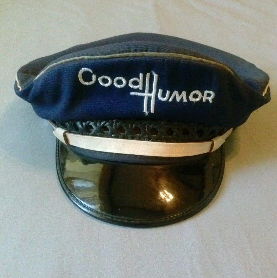3e0505ed078 1950s Good Humor Ice Cream Hat Lancaster Brand 7 1 8 Collectible   LancasterBrand