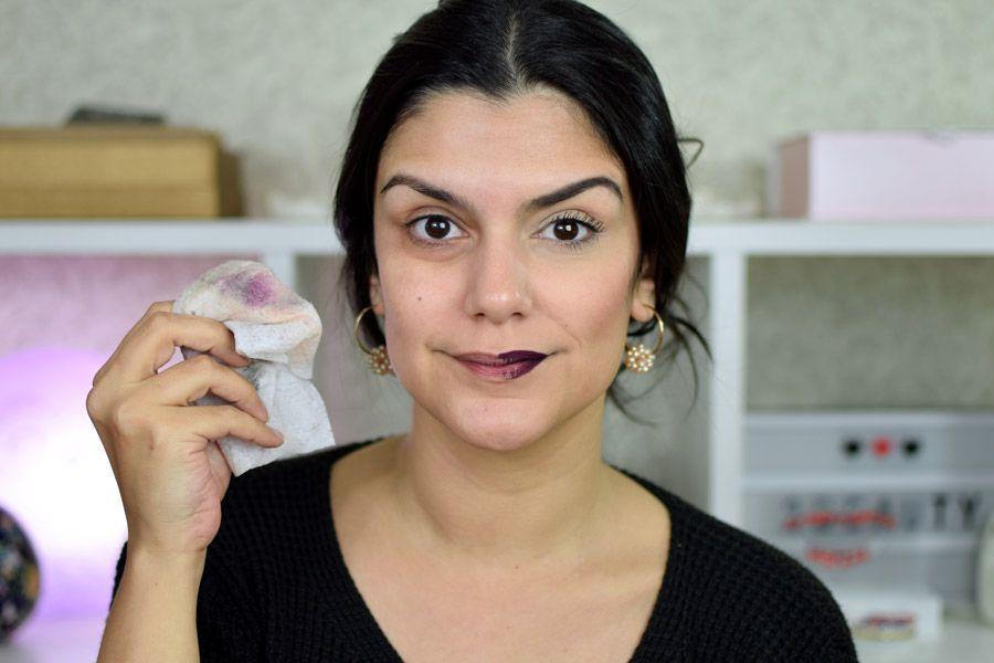 Lenco Removedor De Maquiagem Ruby Rose Rubyrose Maquiagem Ruby