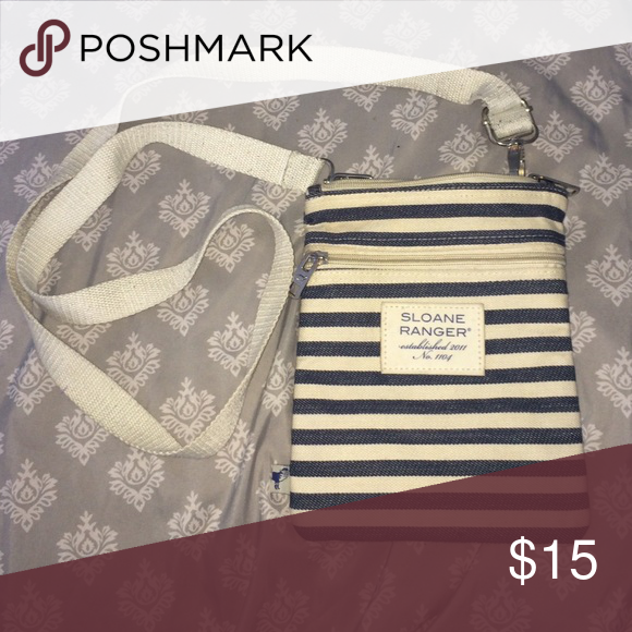 Sloane Ranger cross body. Used, but still in good wearing condition. Bags Crossbody Bags