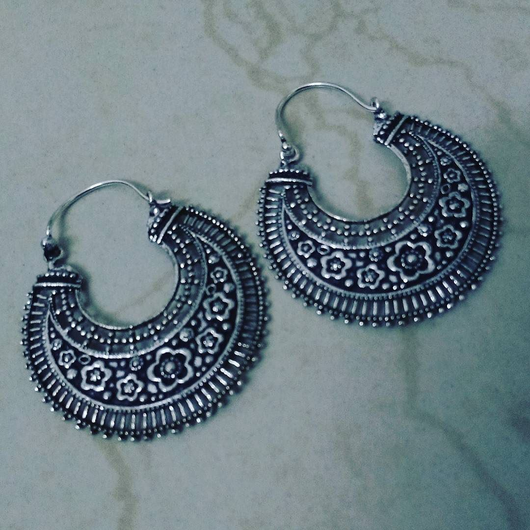 #oxidized #chaandbaali #newarrivals 300 only To order whatsapp on 9677287768 or DM us :) #kanya #accessories #baali #ramleelaearrings #onlineboutique #onlineshopping by kanya_fashionboutique