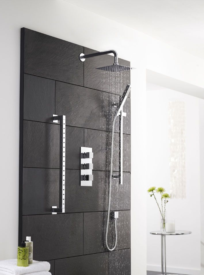Design Your Own Triple Diverter Thermostatic Shower With 3 Outlet Options  Hudson Reed