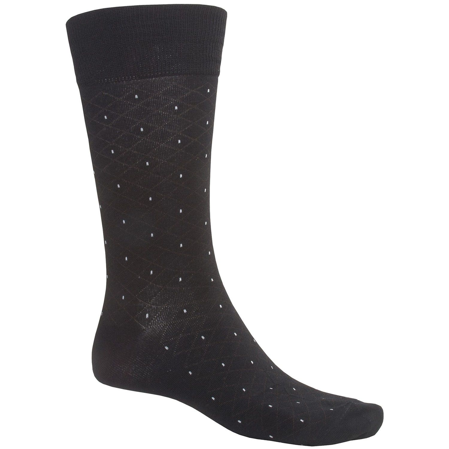 35dda4d6448c ECCO CoolMax® Pin-Dot Dress Socks (For Men) | Dress British, think ...