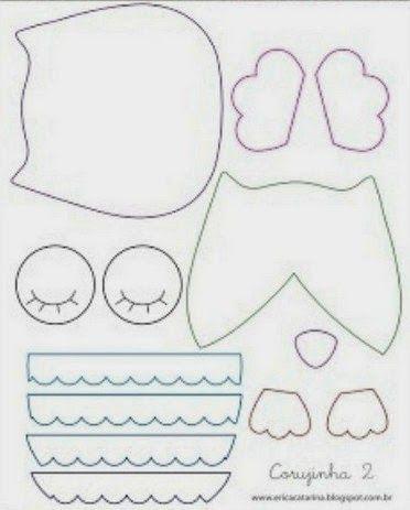 Patrones de lechuzas de tela para imprimir portal de - Patrones para pintar en tela ...