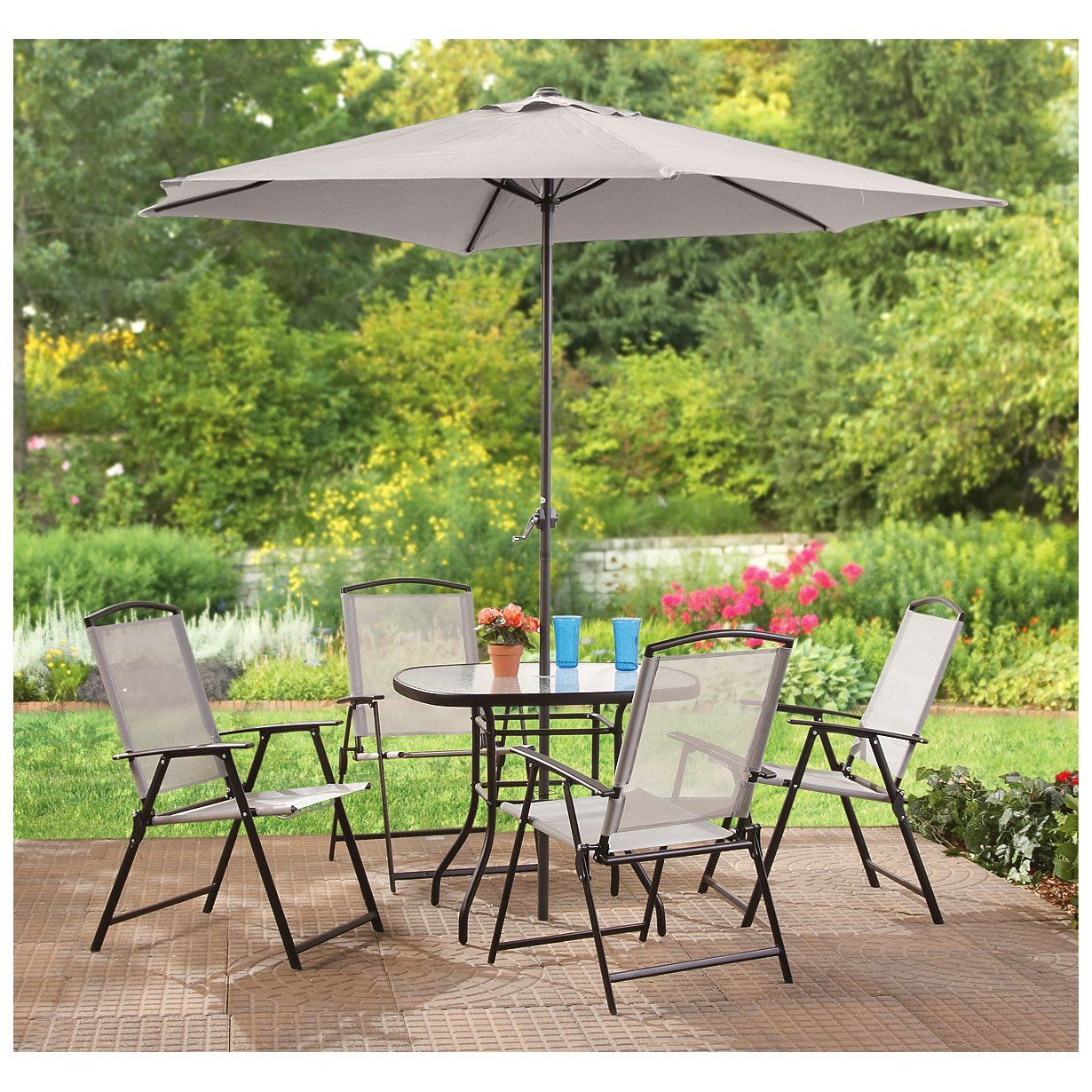 Castlecreek 6 Pc Complete Patio Set Outdoor And