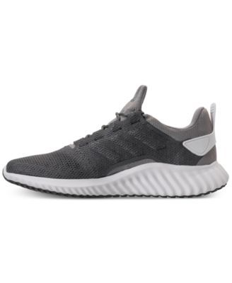 6a534de94097 adidas Men s AlphaBounce City Running Sneakers from Finish Line - Gray 12