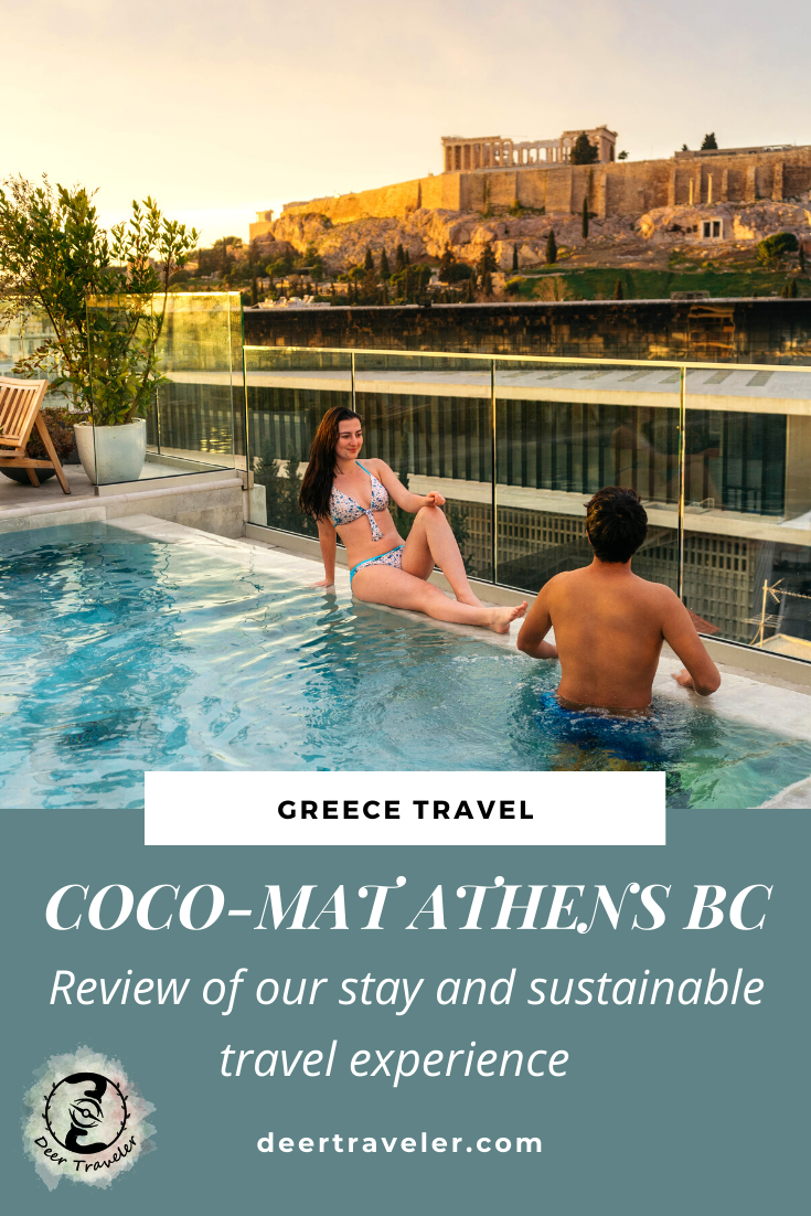 Staying At The Sustainable Coco Mat Athens Bc Greece Deer Traveler Sustainable Travel Greece Hotels Greece Travel