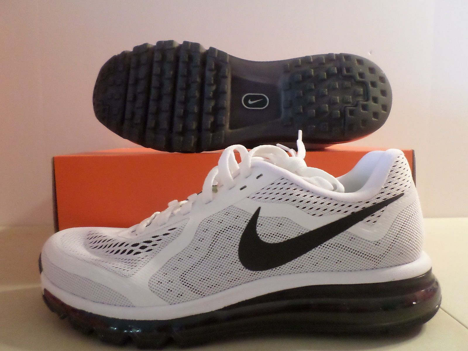 premium selection f1742 32a37 ... uk new nike air max 2014 360 white black running shoes sz 11 ebay 68408  aca45