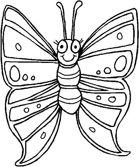 leuke vlinder