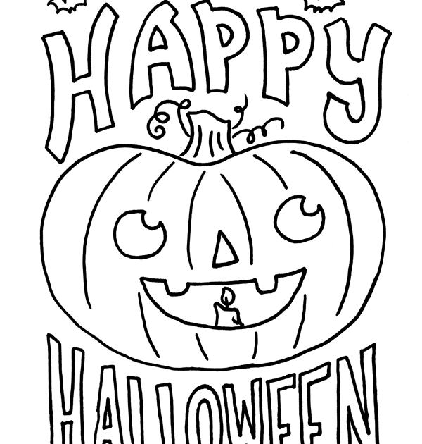 Happy Halloween Coloring Pages For Kids Halloween Coloring Pictures Hallowe Halloween Coloring Pictures Free Halloween Coloring Pages Halloween Coloring Sheets