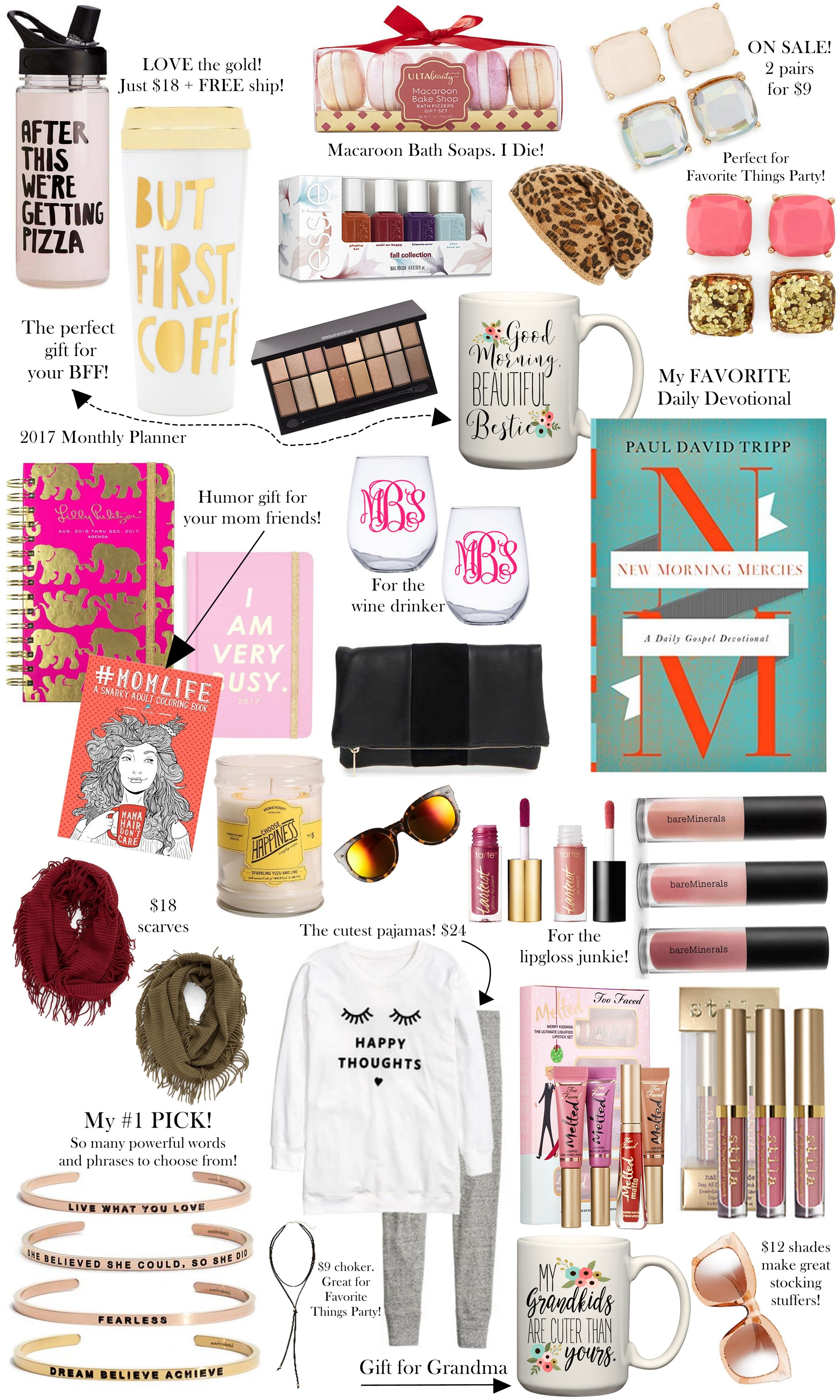 Christmas Gifts 25 Under 25 The Sister Studio Favorite Things Party Gift Ideas Favorite Things Gift Favorite Things Party