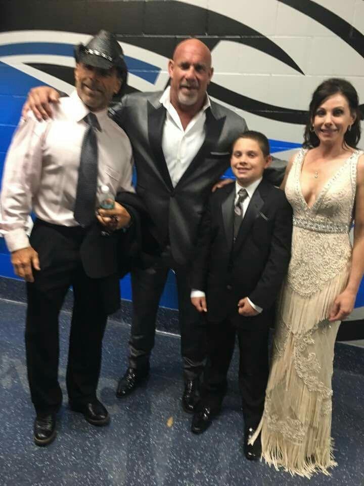 Goldberg, Wife, Wanda, Son, HBK Shawn Michaels | Bill ... Gage Goldberg