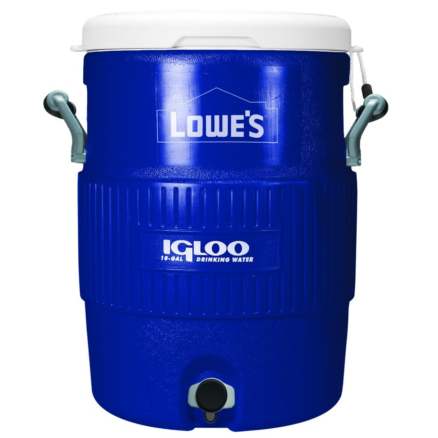 10 Gallon Igloo Water Cooler Beverage Cooler Cooler Accessories Igloo Cooler