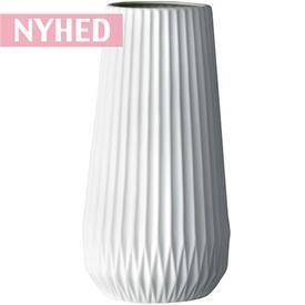Vase - Keramik - Hvid