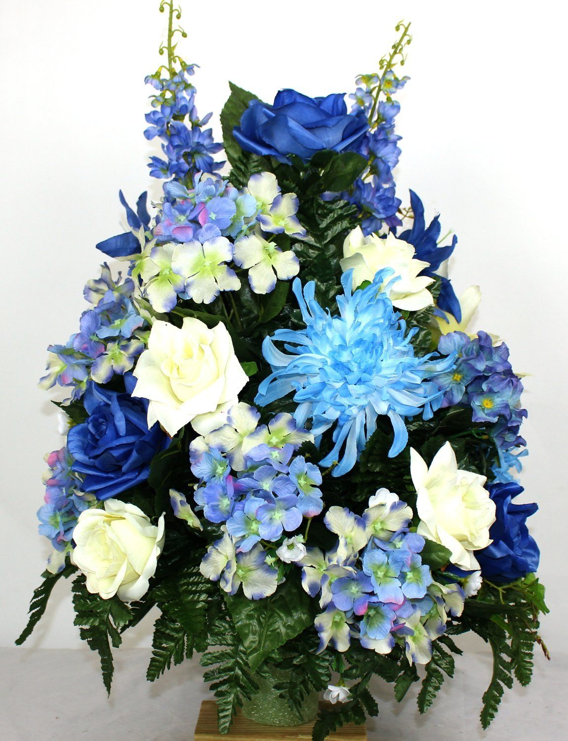 Beautiful Spring Mixture Cemetery Arrangement for a 3 Inch Vase, $42.99