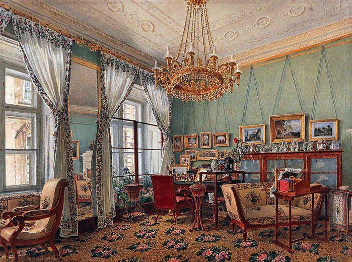 Rudolf Ritter von Alt (1812-1905) u2014 (699x520) Interior Pinterest - wohnzimmer modern und alt