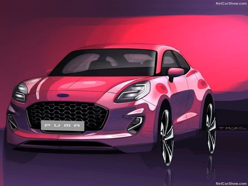 Hot Road News On Instagram Ford Puma 2020 Official Sketches By Ford Desenhos Auto