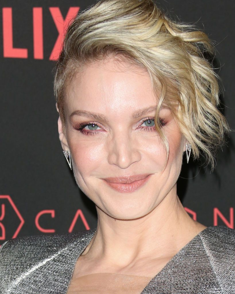 Actress Kristin Lehman Attends Netflix S Altered Carbon Season 1