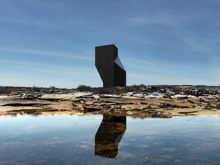 Tower Studio, Shoal Bay, Newfoundland Saunders Architecture