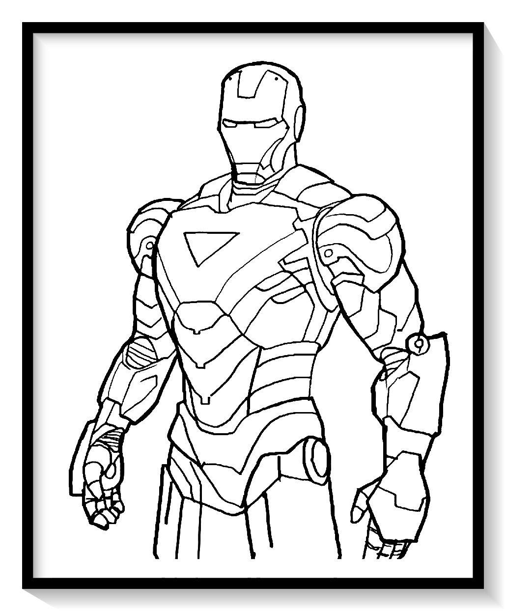 Dibujos De Iron Man Para Colorear En Linea Colorear E Imprimir Ironman Ironman Para Pi Iron Man Para Colorear Libro De Colores Iron Man Para Dibujar