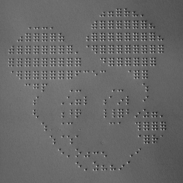 Braille Art | Beauty of Braille | Teaching career, Art