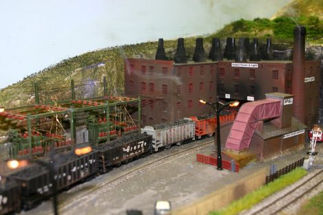 model railroad coal mine examples | 025-2013-solent-model-railway-group-eurotrack-model-exhibition-forton ...