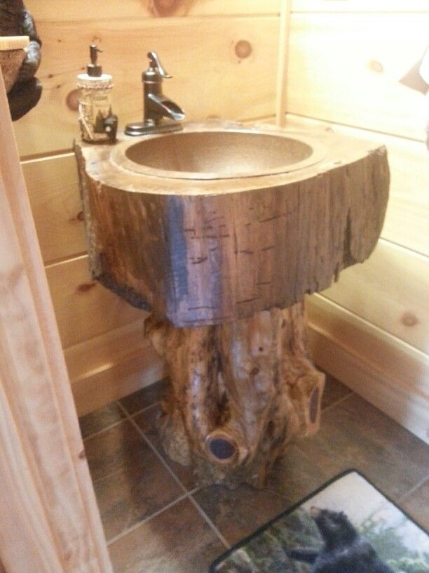 A Homemade Sink For Your Dream Cabin Cabin Decor