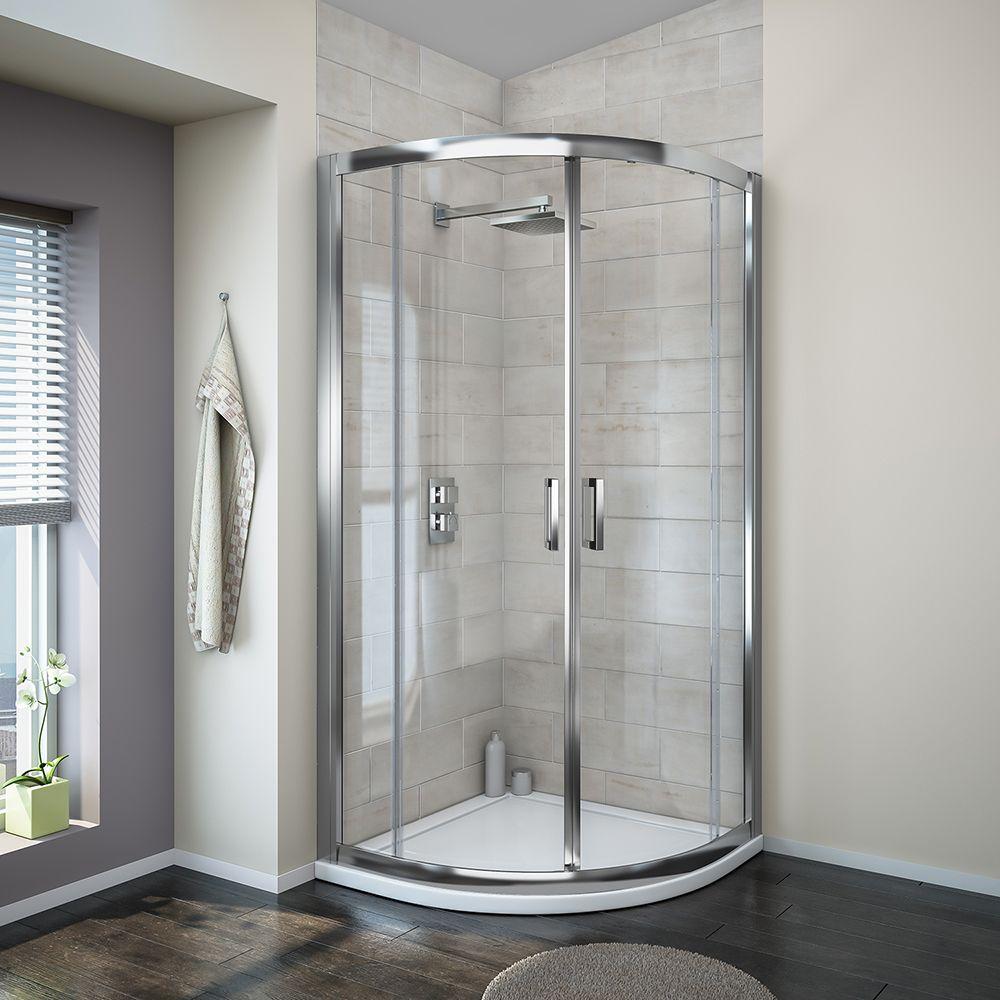 Turin 8mm Quadrant Shower Enclosure Shower Enclosure Corner