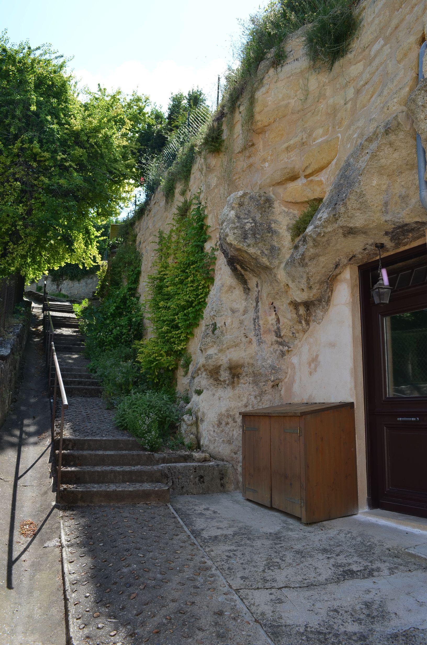 Gironde Saint Emilion maison troglodyte