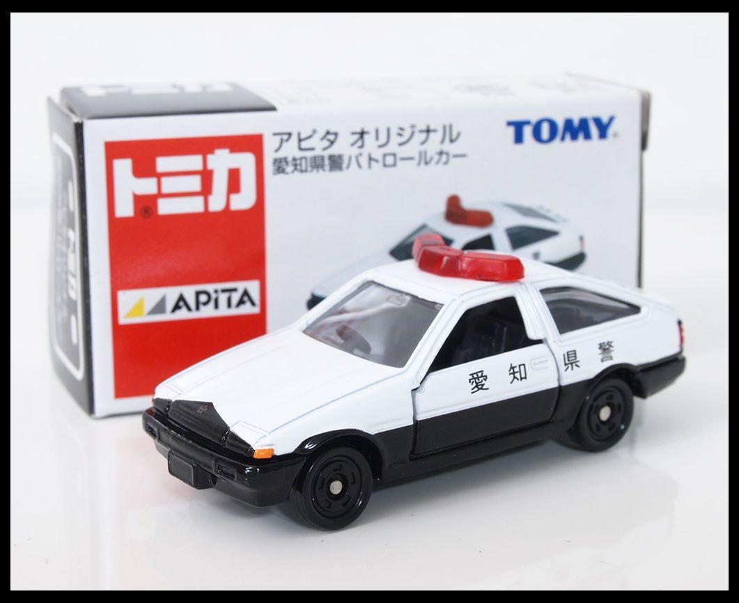 Tomica Apita Toyota Sprinter Trueno Levin Ae86 Patrol Car