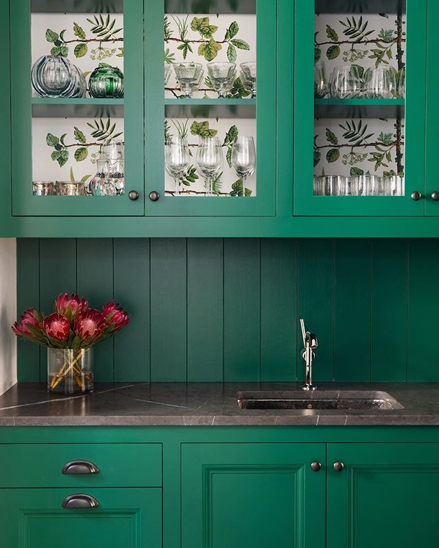 pin on simply beautiful spaces on kitchen ideas emerald green id=50866