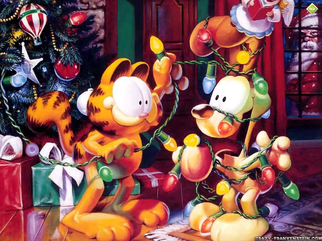 Garfield Cartoon Wallpapers Page Crazy Frankenstein