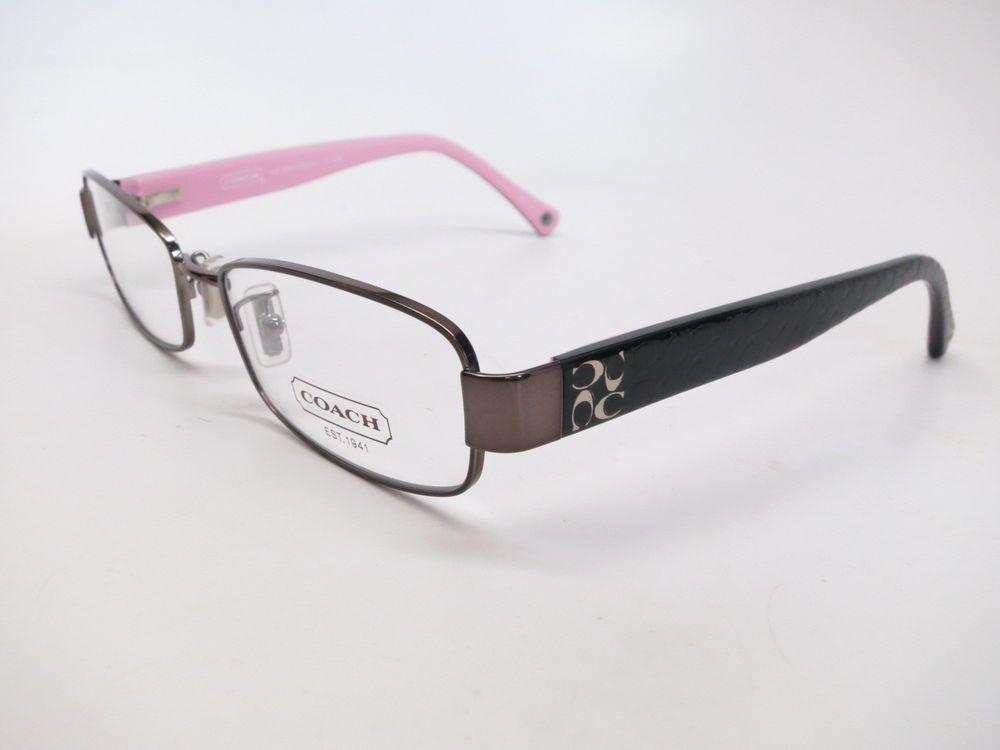 cfc89bf87d Coach HC 5001 Taryan 9021 Dark Silver Pink 52mm Eyeglasses  Coach ...