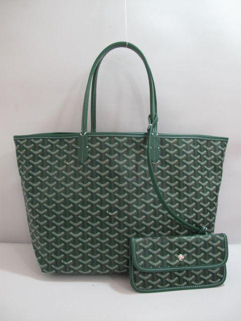 Goyard Saint Louis green tote   My Style   Bags, Green, Goyard tote c4b831801e4