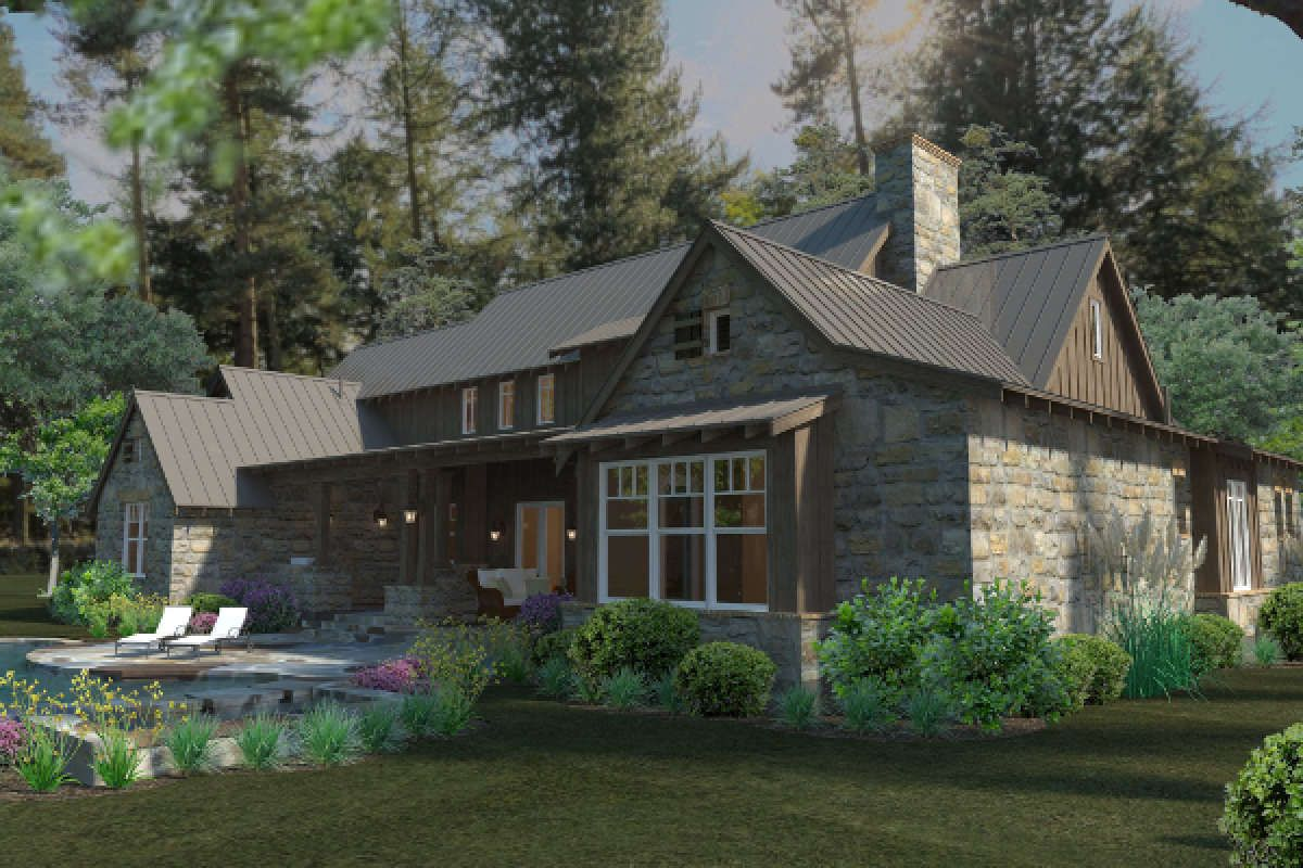 House Plan 9401 00085 Mountain Rustic Plan 4 164 Square Feet 4 Bedrooms 4 Bathrooms In 2020 Craftsman Style House Plans Rustic House Plans Remodel Bedroom