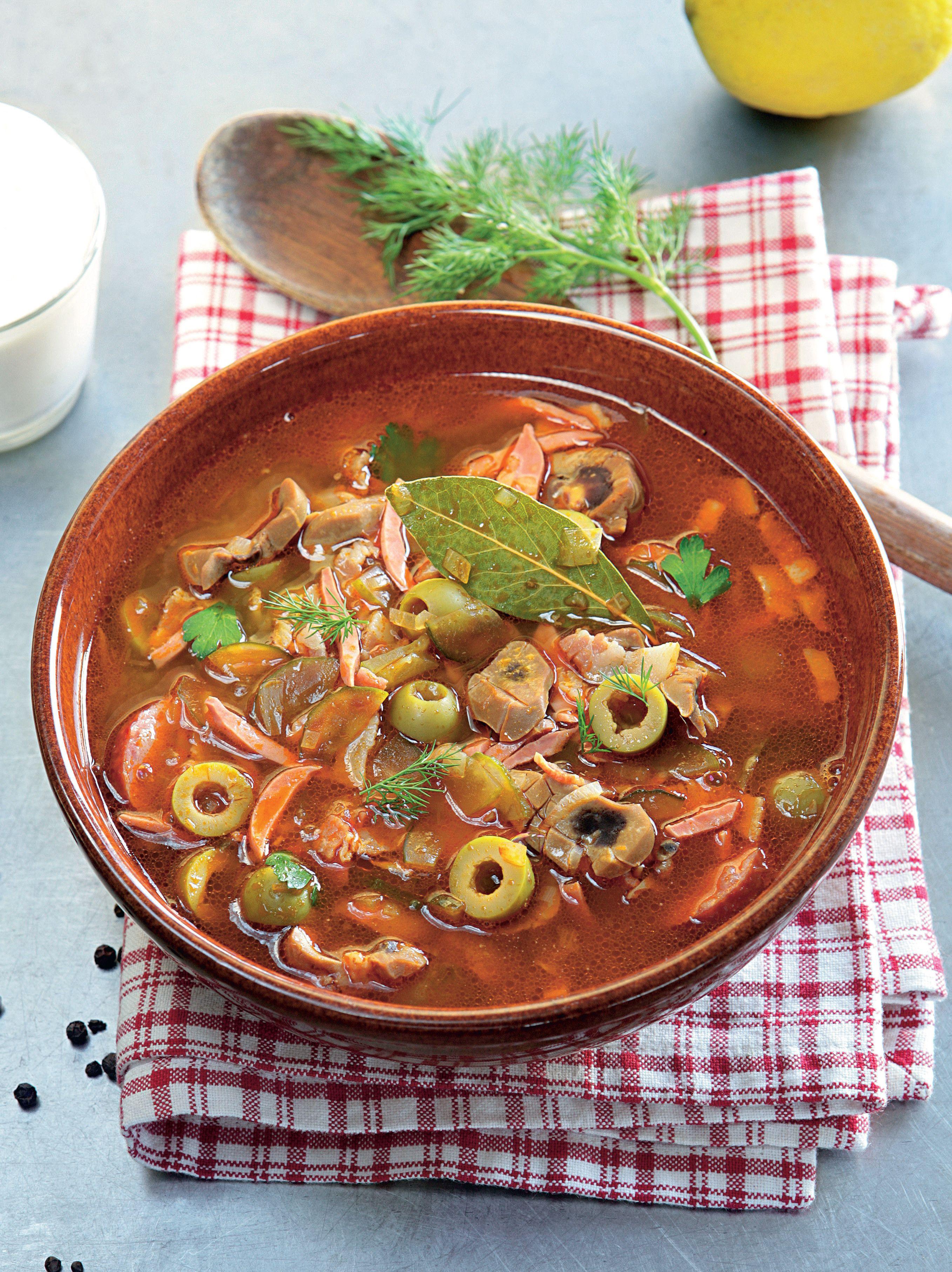 крепить сразу рецепт супа солянка сборная мясная с фото комплексов женщин