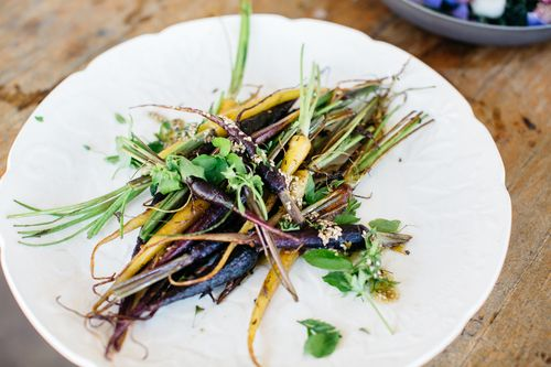 Rainbow carrots Salad