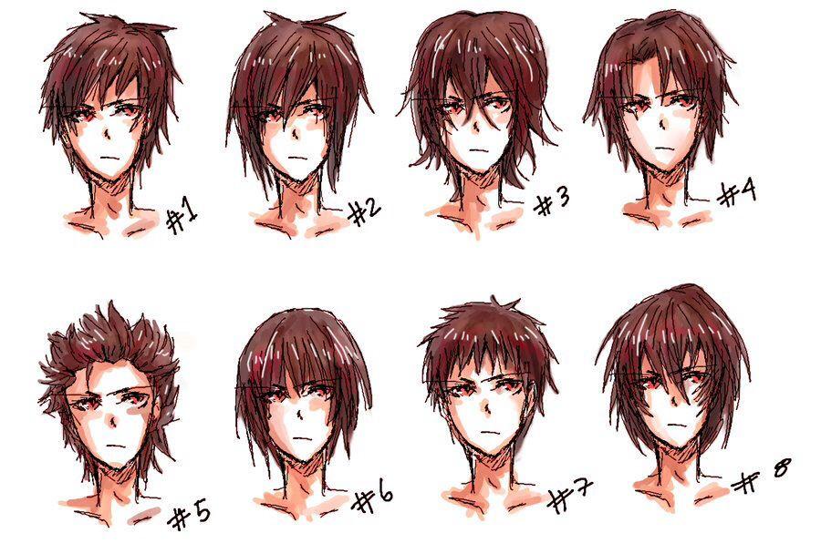 Inspiration Boy S Men S Hairstyles Manga Anime Drawing Art Hair Hairstyles Boy Man Men His Bishounnen Anime Boy Hair Anime Hair Manga Hair