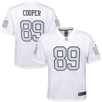 Amari Cooper Oakland Raiders Nike Youth Color Rush Game Jersey - White 1e7f0e46b