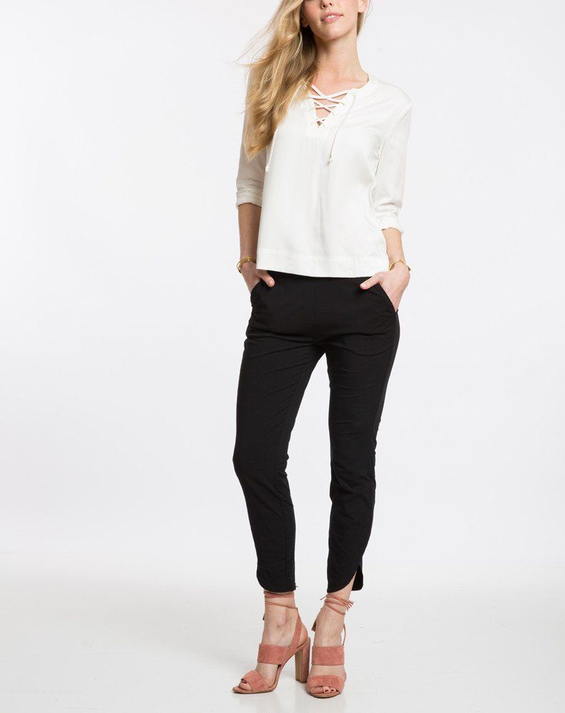 0a988e3236 Allison Pant in Black in 2019 | Stitch Fix | Pants, Black pants, Black