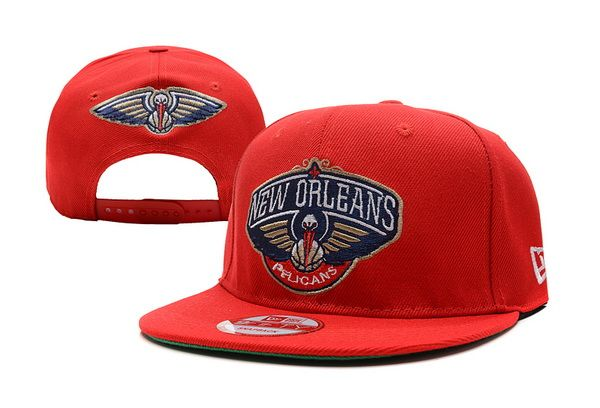 65614fa8a2e NBA New Orleans Pelicans Snapback Hat Red