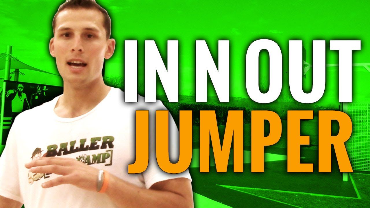 Basketball Moves To Practice In N Out Jump Shot Move