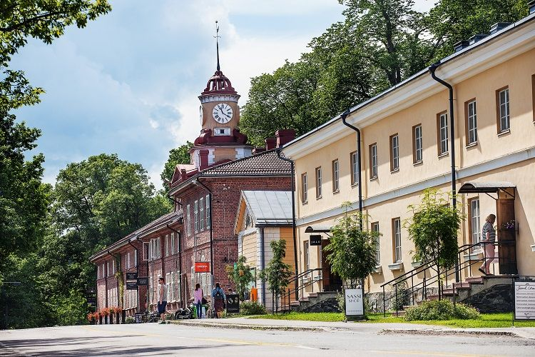 Fiskars Village - Clock Tower Building