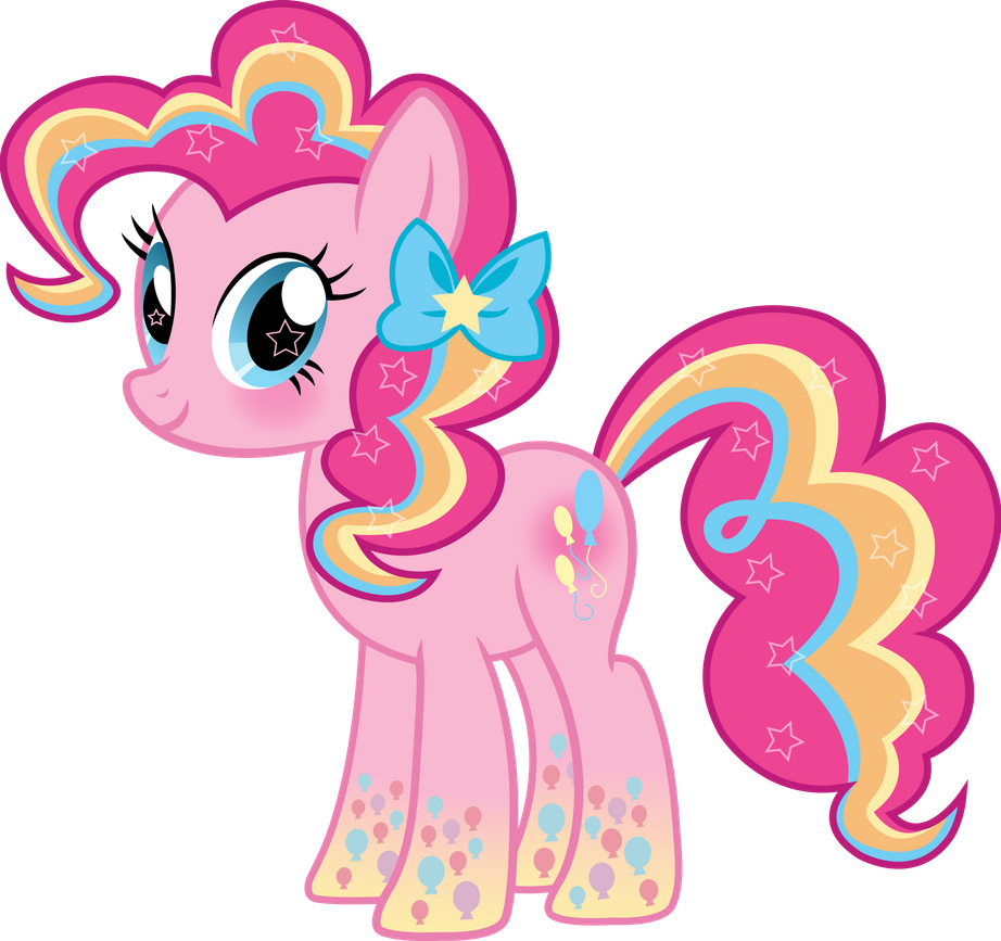 Rainbow Power Pinkie Pie Vector By Sugar Loop On Deviantart My Little Pony Drawing My Little Pony Wallpaper My Little Pony Pictures