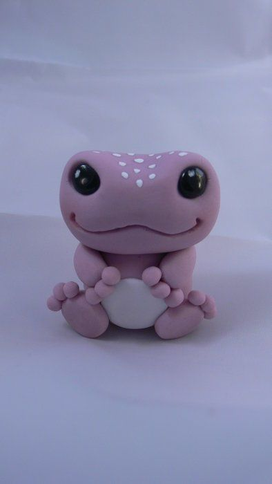Baby frog cake topper