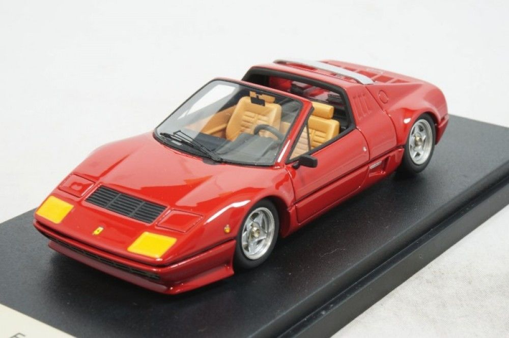 Used BBR 1/43 Ferrari 512BB Cabriolet 1981 Red BBR98A From Japan 285