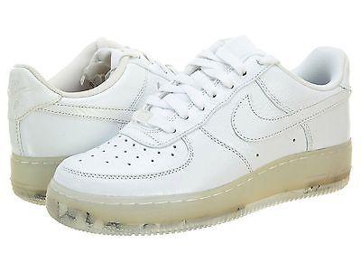 a3fa69cc53715 NIKE Air Force 1 Low Prem 318775-100 Mens WHITE WHITE Athletic Shoes ...