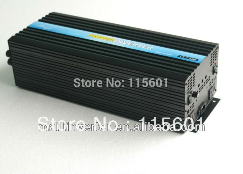 Factory Direct Selling 6kw Inverter Dc 48v To Ac 120v 6000w Pure
