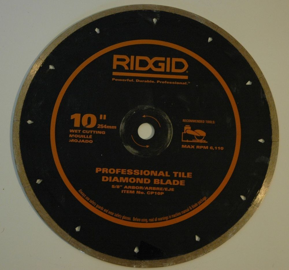 10 Rigid Porcelain Tile Diamond Blade Cp10p Diamond Blades Porcelain Tile 10 Things